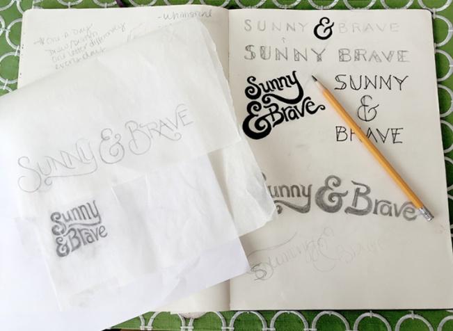 Logo Development Sketches